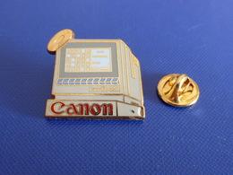 Pin's Canon Canofile 250 - écran Ordinateur Internet - Zamac Drago (YH46) - Computers