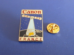 Pin's Canon Hope France - Satellite - Ordinateur Internet Espace - Zamac Drago (YH47) - Computers