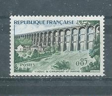 FRANCE   Yvert  N° 1240 **  VIADUC  DE CHAUMONT - France