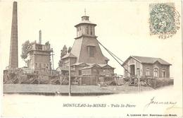 Dépt 71 - MONTCEAU-LES-MINES - Puits Saint-Pierre - (mine) - Montceau Les Mines