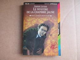 Le Mystère De La Chambre Jaune (Gaston Leroux) éditions Folio De 1998 - Autres