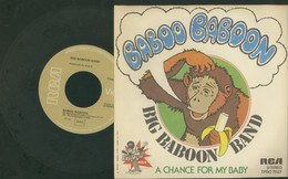 BIG BABOON BAND -BABOO BABOON -A CHANCE FOR MY BABY -DISCO VINILE - Dischi In Vinile