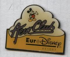 Pin's Euro Disney Aero Club - Disney