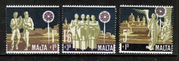MALTA  Scott # B 1-3* VF MINT LH (Stamp Scan # 423) - Malta