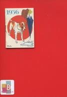Ravissant Carnet Calendrier 1936  Crème Eclipse Cirage Illustrateur Micho Chien Parapluie Chapeau - Calendars
