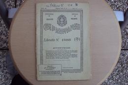 STORIA POSTALE ITALIA ITALY LIBRETTO POSTALE CASSE DI RISPARMIO POSTALE UFFICIO DI TRIESTE VARI BOLLI - Documenti Storici