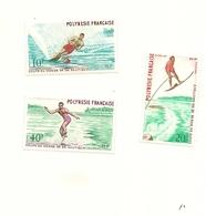 POLYNESIE FRANCAISE   THEME SPORT - Collections, Lots & Séries