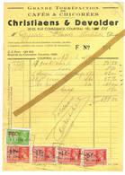 Kortrijk: 1941, Christiaens & Devolder; Grande Torréfaction De Cafés Et Chicorées. - 1900 – 1949