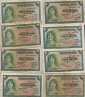 BILLETE ESPAÑA -   1 Peseta 1935  (1 Billete) - [ 5] Uitgaven Van Het Ministerie Van Financiën
