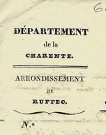 1831 LETTRE COMPLETE ET SIGNEE Mansles (Charente) Pour Mr Albert  Fils Angoulème ELECTIONS EVENEMENTS DE JUILLET V.SCANS - Manuscrits