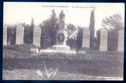 Cpa D' Algérie Bordj Bou Arréridj  Le Monument Aux Morts    SEPT18-45 - Argelia