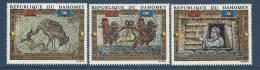 "Dahomey Aerien YT 157 à 159 (PA) "" Sauvegarde De Venise "" 1972 Neuf** - Benin - Dahomey (1960-...)"