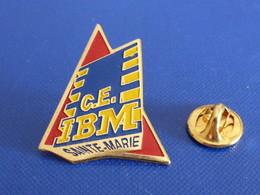 Pin's IBM CE Sainte Ste Marie - Comité D'entreprise - Ordinateur Informatique (YH57) - Computers