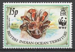 BIOT 1993 Mi# 135** CRAB - Territoire Britannique De L'Océan Indien