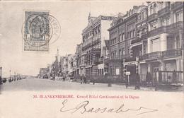 """BLANKENBERGHE """"Grand Hôtel Et La Digue """" 1910  Voir Scans - Blankenberge"""