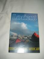 """Lot Lorient (56) - Guide Annuaire De Lorient + Plaquette """"Ville De Congrès"""" Avec Hôtels + Plan Guide - Vieux Papiers"""