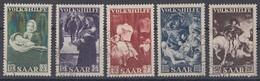 Saar Minr.309-313 Gestempelt - 1947-56 Allierte Besetzung