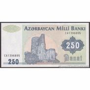 TWN - AZERBAIJAN 13b - 250 Manat 1999 Prefix CA AU - Azerbaigian