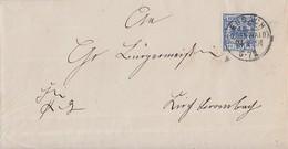 DR Brief EF Minr.48b KOS Erbach (Odenwald) 24.4.91 Geprüft Doppelverwendung - Briefe U. Dokumente