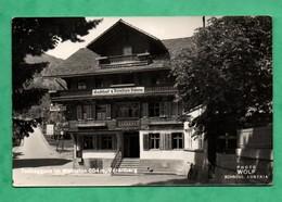 Autriche Austria Osterreich Vorarlberg Techsgguns Im Montafon Gasthof Pension Sonne ( Format 9cm X 14cm ) - Autriche