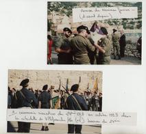 Chasseurs - Villefranche - 24ième BCA - Octobre 1993 - 2 Photos Originales - 1914-18