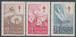FINLAND  Michel  434/36  ** MNH - Finlande
