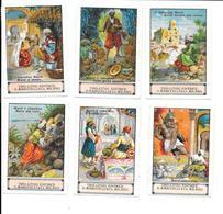 AM56 - TIPO LITOGRAFIA MARUCELLI MILANO - FAVOLE DELLE MILLE E UNA NOTTE - I CIABATTINO MARUF - Trade Cards
