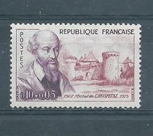 FRANCE -  Yvert  N° 1257 **  Michel De L'HOSPITAL - France