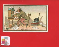 LILLE CHICOREE BERIOT Chromo Farredesche VEILLE EXAMENS ÉTUDIANT FACULTE CHAT LAMPE - Trade Cards