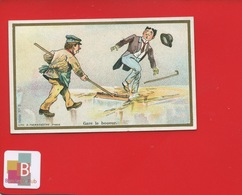 LILLE CHICOREE BERIOT Chromo Farredesche  GARE LE BOUEUR RAPPORT CLASSES SOCIALES - Trade Cards
