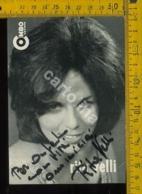 Personaggio Musica Teatro Cantanti Autografo Rita Velli - Cantanti E Musicisti