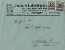 DR Brief Mef Minr.2x 336A Erfurt 24.11.23 - Deutschland