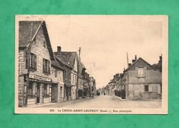 27 Eure La Croix Saint Leufroy Rue Principale - Frankreich