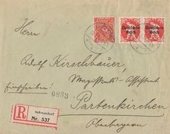 DR R-Brief Mif Minr.2x 125,172 Schwandorf 10.1.22 - Deutschland