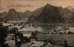 TONKIN - CAOBANG - Pont En Z Jeté Sur Le Torrent Près De Ban-Giot - Viêt-Nam