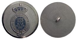 05327 BOTTONE BUTON ORDINE DELLA GIARRETTIERA ORDER OF THE GARTER HONI SOIT QUI MAL Y PENSE - Royaume-Uni