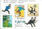 "TIMBRE TINTIN   - BLOC JOURNEE DU TIMBRE  "" 3,00 + 0,60 "" -  HERGE  ( NON OBLITERE ) - Tintin"