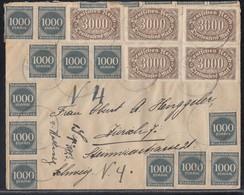 DR Brief Mif Minr.5x 254,45x 273 Gel. In Die Schweiz - Deutschland