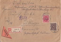 DR R-NN-Brief Mif Minr.231,269 Berlin 14.5.23 Geprüft - Deutschland