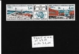 TAAF  TRIPTYQUE 43A  N**  A VOIR - Terres Australes Et Antarctiques Françaises (TAAF)