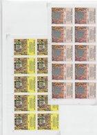 Laos 1984; Chess Echecs;10x Full Stampset In  Cornerblocs - Laos