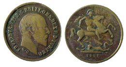 04836 MEDAGLIA MEDAL EDWARDUS VII D.G. BRITT OMN REX F.D. IND. IMP 1907 - Royal/Of Nobility