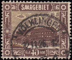SAAR - Scott #109 Pottery At Merrlach (*) / Used - Used Stamps
