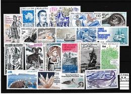 TAAF TRES BON LOT DE DIVERS TIMBRES ET PA  N**  A VOIR - Terres Australes Et Antarctiques Françaises (TAAF)