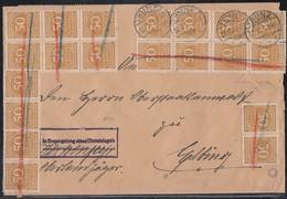 DR Brief Mif Minr.20x 275,40x 276,7x 284 Trunz 22.10.23 Geprüft - Briefe U. Dokumente