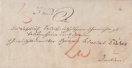 Brief L2 Meissen 7.5.1831 - ...-1849 Vorphilatelie