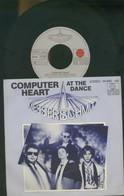 MASSERSCHMITT -COMPUTER HEART -AT THE DANCE -DISCO VINILE 45 GIRI - Vinyl Records