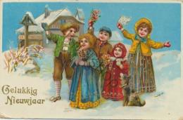 Gelukkig Nieuwjaar - Happy Newyear - Bonne Année (A765 - Nouvel An