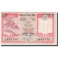 Billet, Népal, 5 Rupees, 2008, KM:60, TB - Népal