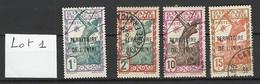 ININI : Lot 1 De 4 Timbres Oblitérés - Used Stamps